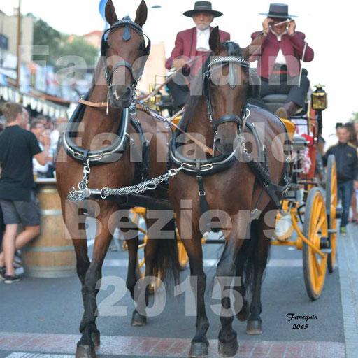 Féria de Béziers 2015 - Défilé dans les rues - ouverture de la féria 2015 - 1