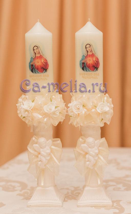 Свечи для крещения