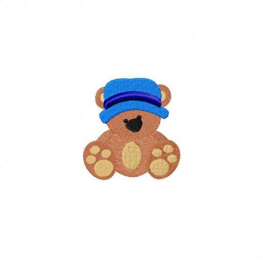 Bär Junge - Größe: 69x73 mm - Stiche: 9 026