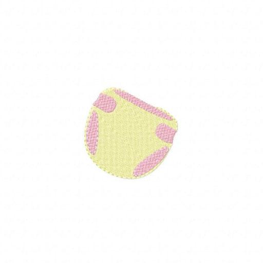 Windel - 67x65 mm - Stiche: 8 035