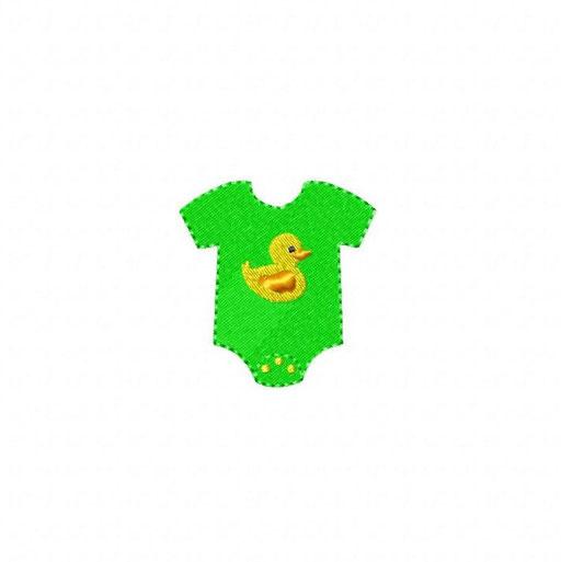 Babybody - Größe: 66x69 mm - Stiche 6 134
