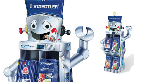 STAEDTLER | Modularer Saison-Warenträger für Schreibgeräte