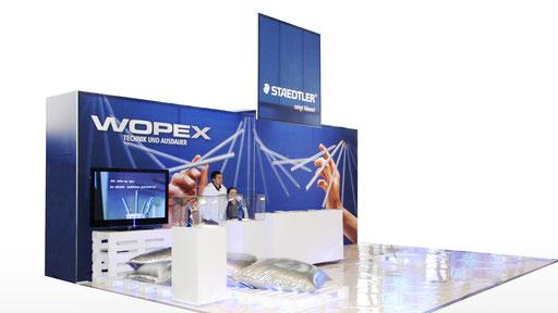 STAEDTLER | Messestand WOPEX auf der YOU in Berlin