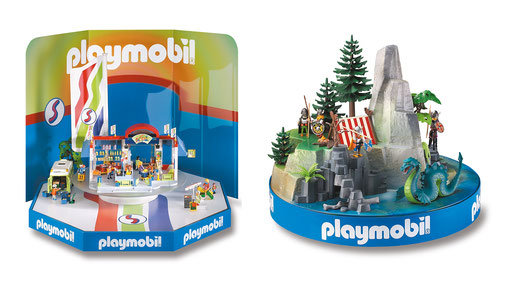 Playmobil | Szenische Drehschaustücke für Verkaufsraum oder Schaufenster