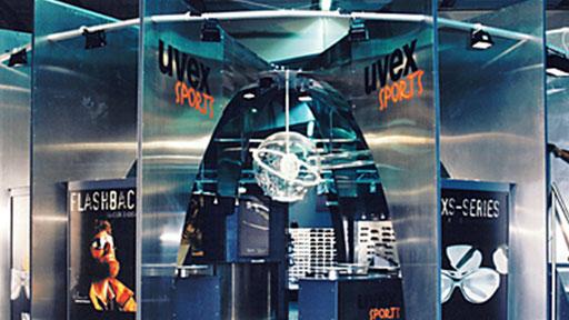 uvex Sports | Messestand auf der ISPO in München