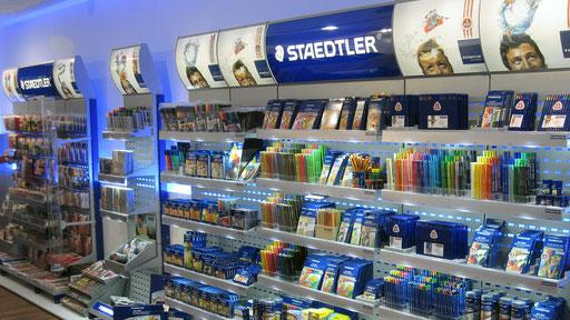 STAEDTLER | Modulares Shop-in-Shop-System zur Sortimentspräsentation