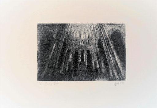 Marc Prat, Absis Seriegrafia, 2019, 30 x 40 cm