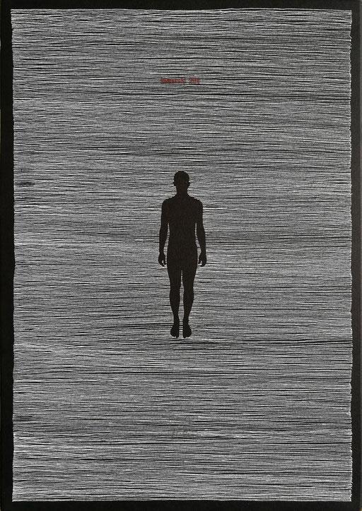 Oriol Texidor, Immersió 204, 2017, 42 x 30 x 4 cm