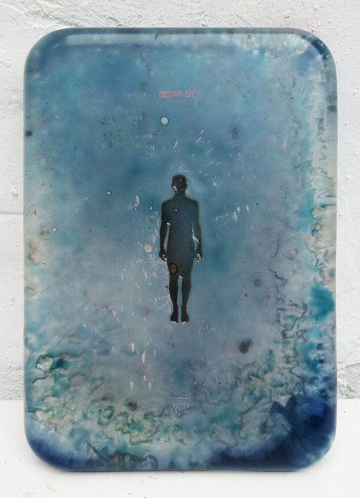 Oriol Texidor, Immersió 259, 2019, 42 x 30 x 3 cm