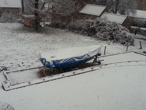 Arrivée de la neige...