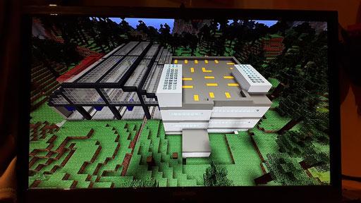 Hauptbahnhof mit Parkhaus