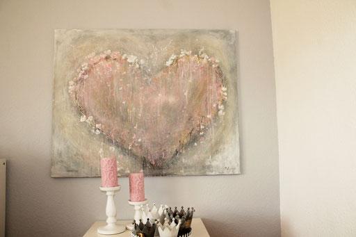80 x 100 cm Acryl auf Leinwand