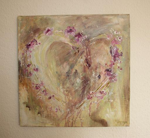 40 x40 cm Acryl auf Leinwand