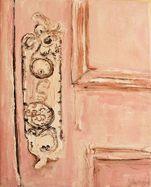 20 x 30 cm Acryl  und Paste auf Leinwand