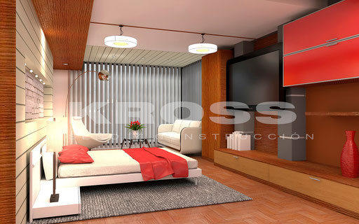 Interiorismo Dormitorio Urbiola 1
