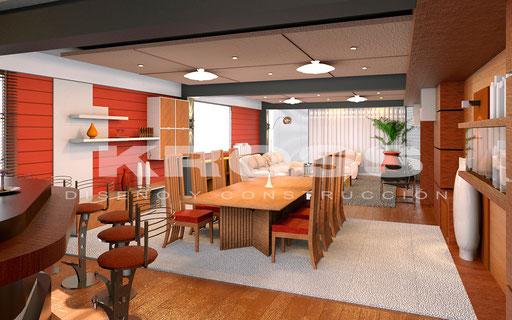 Sala Comedor Flat 1
