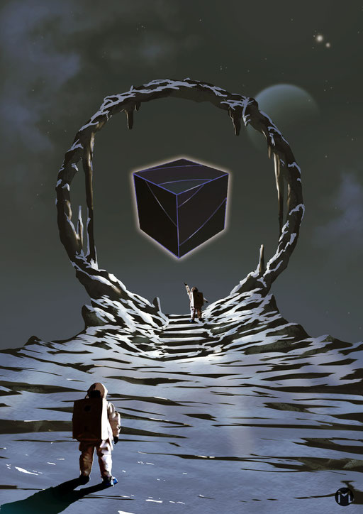 Artwork - Illustration - Cube