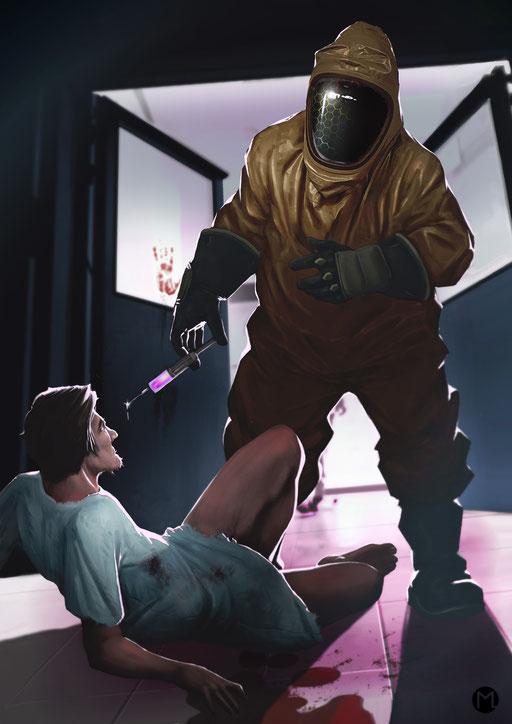 Artwork - Illustration - Virus