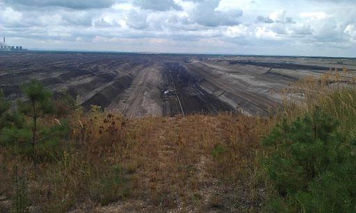 aktiver Tagebau Nochten