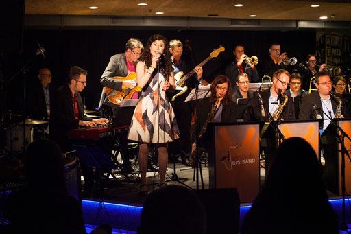 West Side Bigband feat Lea Nussbaumer, Mahogany Hall, Bern, 27.01.2017