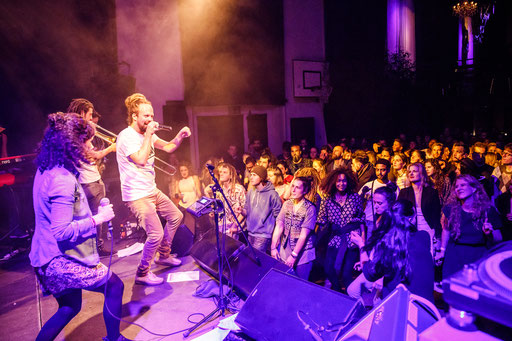 Collie Herb And The Mighty Roots, 01.12.2017, Turnhalle Bern