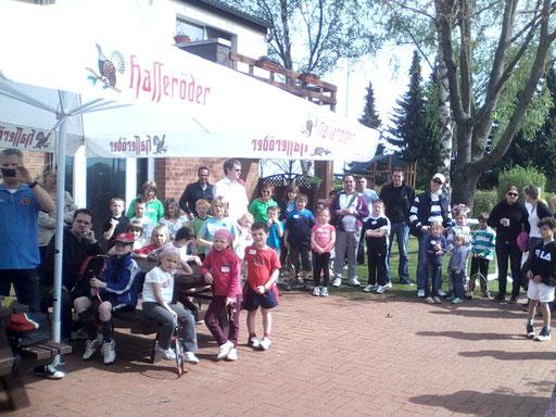 Saisoneröffnung und Kids Court Einweihung am 28.04.2012