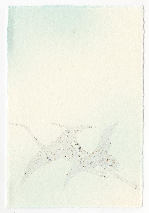 鶴(砂子あり)