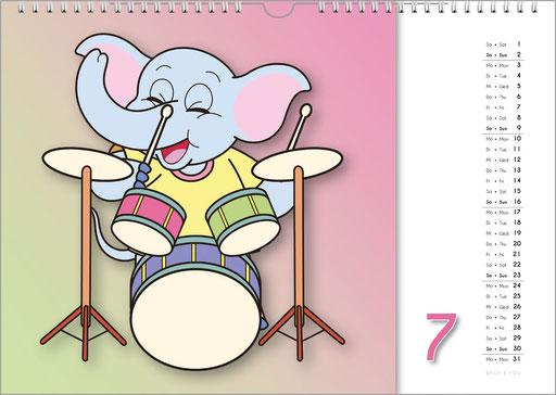 vMusikkalender, Orgelkalender, Komponisten-Kalender und Musik-Kalender für Kinder … 99 Geschenke für Musiker.