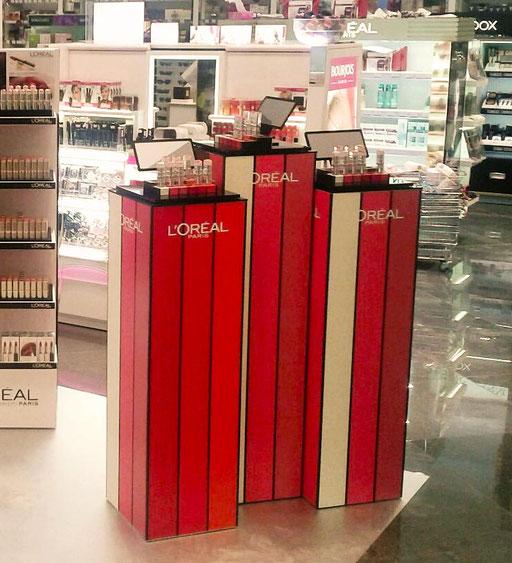 ilot loreal parfumerie