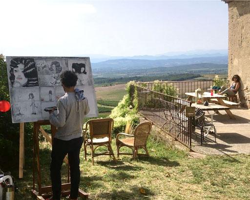 Peinture live | Gotapio
