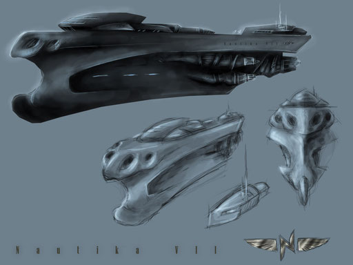 Final Concept art for Nautika Cruiser