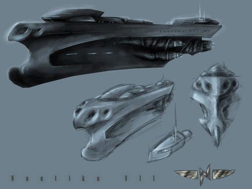 Final Concept art for Nautika Cruiser