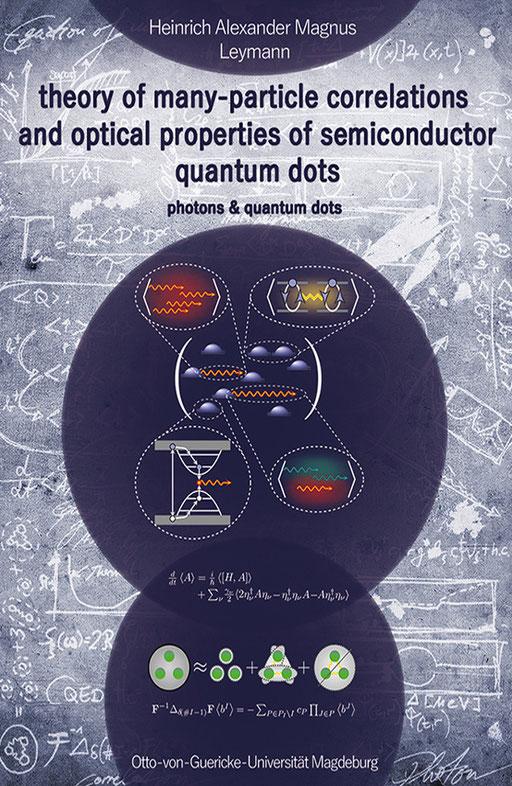 exklusives Buchcover für eine Doktorarbeit aus der theoretischen Physik