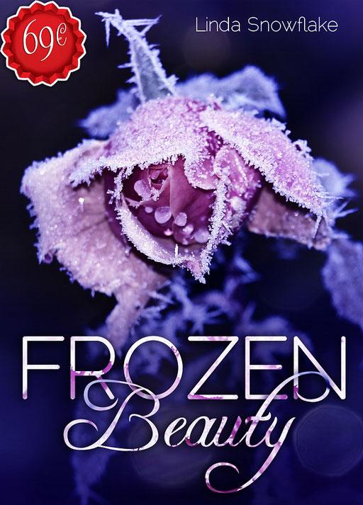 Premade Buchcover Romantik / Premades / Buchcover kaufen / vorgefertigte Buchcover / gefrorene Rose