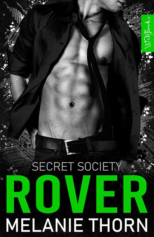 """exklusives  Science Fiction Buchcover """"Secret Society - Rover"""" von Melanie Thorn"""