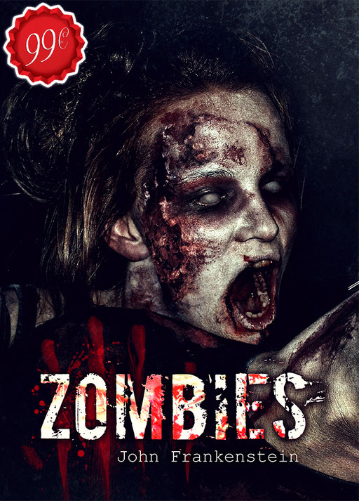 Premade Buchcover Horror Zombie / Premades / Buchcover kaufen / vorgefertigte Buchcover