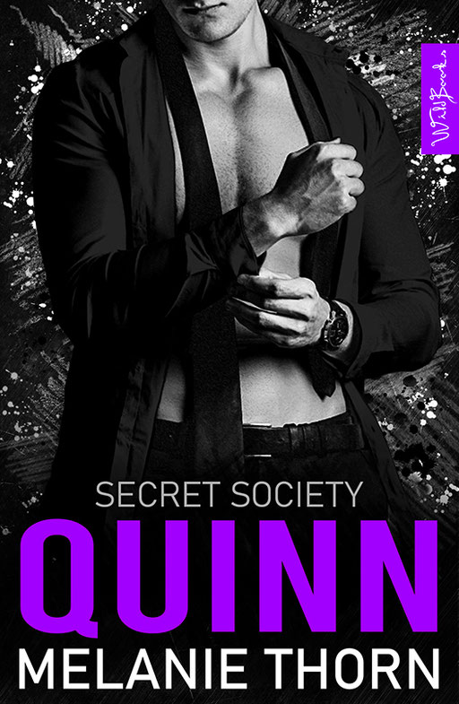 "exklusives  Science Fiction Buchcover ""Secret Society - Quinn"" von Melanie Thorn"