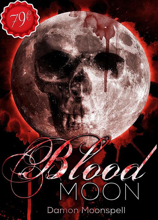 Premade Buchcover Horror / Fantasy / Premades / Buchcover kaufen / vorgefertigte Buchcover / Blutmond