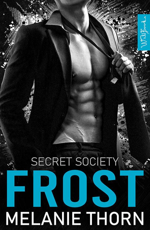 """exklusives  Science Fiction Buchcover """"Secret Society - Frost"""" von Melanie Thorn"""