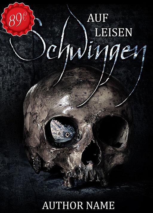 Premade Buchcover Krimi / Thriller / Premades / Buchcover kaufen / Schädel