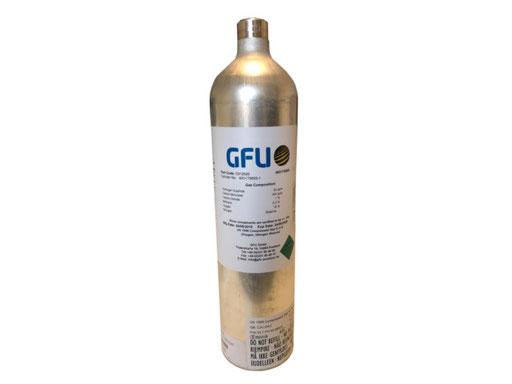Prüfgasflasche 34 Liter