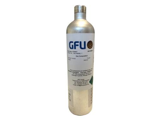Prüfgasflasche 58 Liter