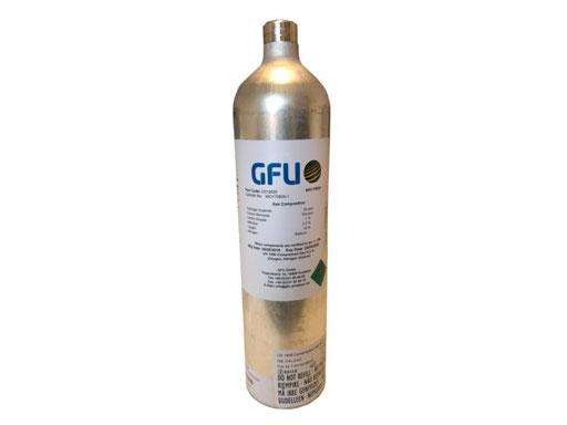 Prüfgasflasche 103 Liter
