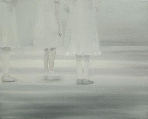 weiß  40x50cm