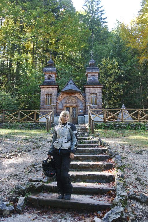 Russische Kapelle an der Vrsic-Nordrampe