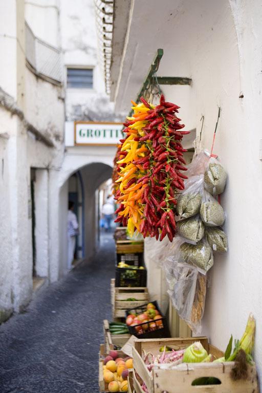 イタリアのマーケット