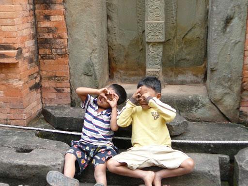 カンボジア アンコールワット遺跡