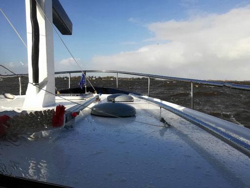 Bisschen viel Wellen auf dem Sneekermeer