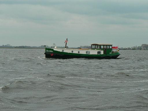 Engländer auf dem Eemmeer unterwegs