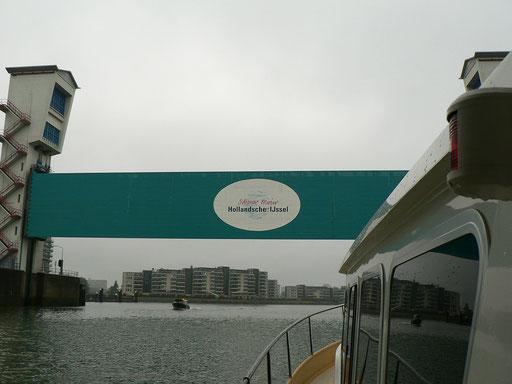 Auf der Hollandse Ijssel